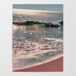 Sparkle Morning Sea Poster
