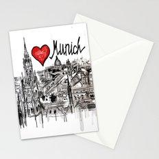 I love Munich Stationery Cards
