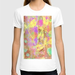 A Dragonflies and Dots T-shirt