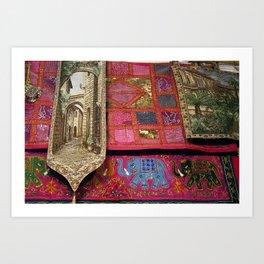 Fabrics 2! Art Print
