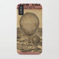 ballon iPhone & iPod Cases featuring Ballon Captif by DAChiemsee