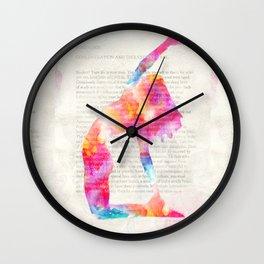 Yoga Book. Foreword Wall Clock