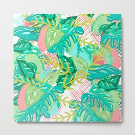 Floresta Tropical Metal Print