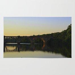 Fredericksburg Railroad Bridge Rug