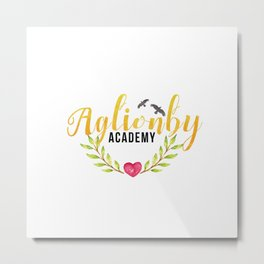 Aglionby Academy - The Raven Cycle by Maggie Stiefvater Metal Print