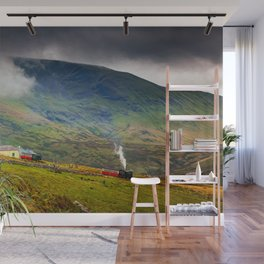 Steam Trains To The Summit Wall Mural