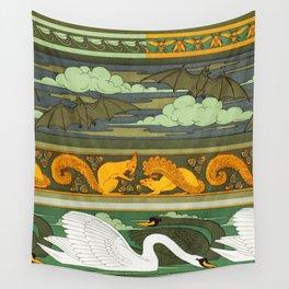 Oiseaux Wall Tapestry