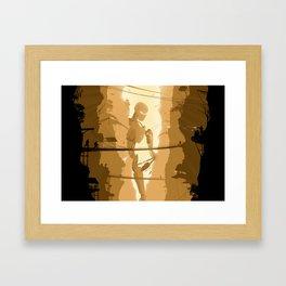 The last stand Framed Art Print