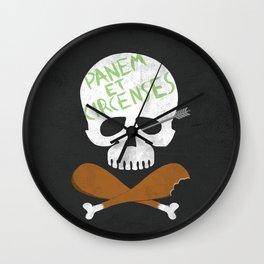 Panem et Circenses Wall Clock