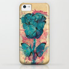 Butterfly Rose Slim Case iPhone 5c