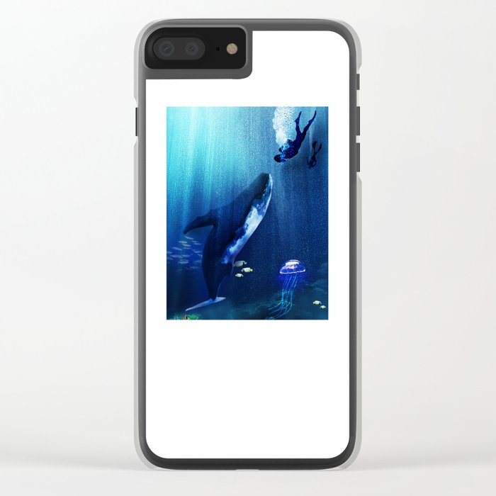 A STRANGE KISS Clear iPhone Case