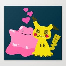 Mimic Love Canvas Print