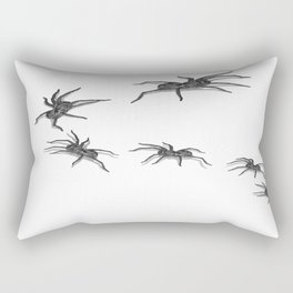 Wolf Spiders Rectangular Pillow