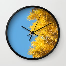 fall crush Wall Clock