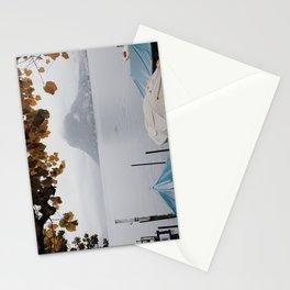 November in Lugano Stationery Cards