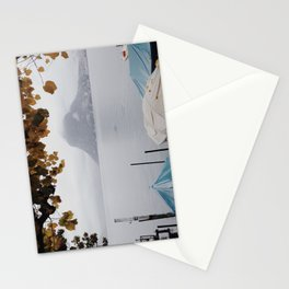 November in Lugano Stationery Cards