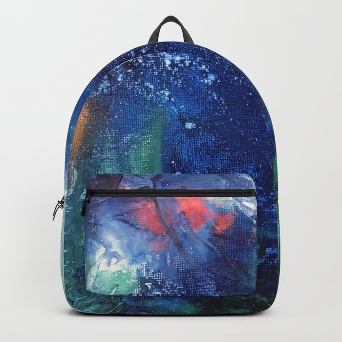 Bright Ocean Life, Tiny World Collection Rucksack