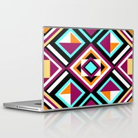 quilt Laptop & iPad Skins featuring Quilt Pattern by k_c_s