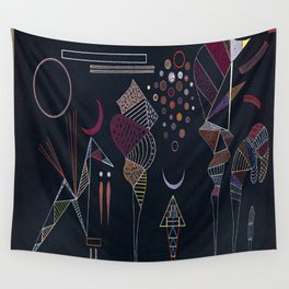 Wassily Kandinsky Reduced Contrast Wall Tapestry