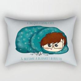 blanket burrito /Agat/ Rectangular Pillow