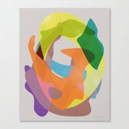 O Waves Canvas Print