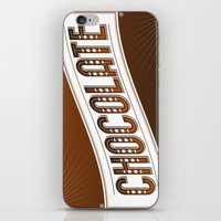 chocolate iPhone & iPod Skins featuring Chocolate by Rhys Jenkins
