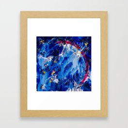 As The Universe Falls Together Framed Art Print