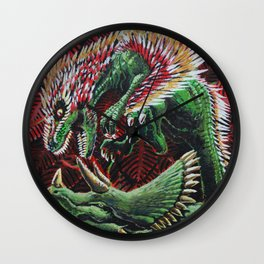 Murder in the Mesozoic Wall Clock