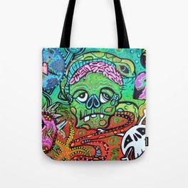 Wild Zombie Tote Bag