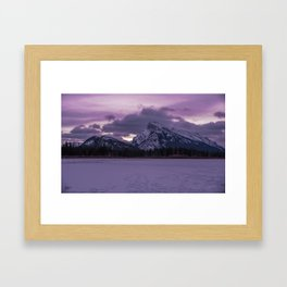 Vermillion Sunrise Framed Art Print