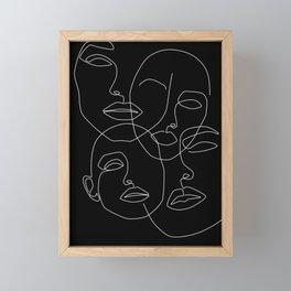 In The Dark Framed Mini Art Print