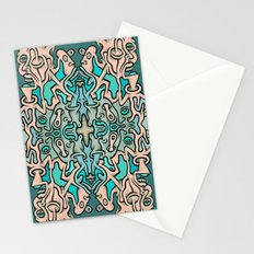 Brain Cloud Stationery Cards