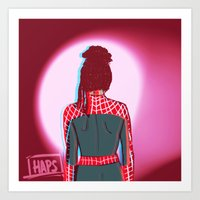 cosima Art Prints featuring Spidey!Cosima 1 by the-haps