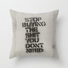 Street Smart Throw Pillow