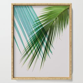Palm Leaf, Botanical Leaves Serving Tray