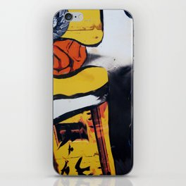 Stretched iPhone Skin