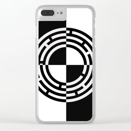 The Maze - Alternate Clear iPhone Case
