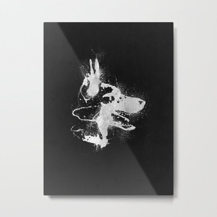 watchdog Metal Print