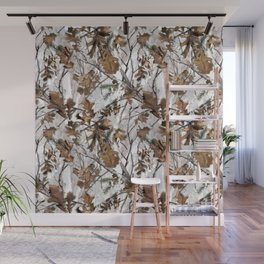 Traml™ Camouflage Whiteout Wall Mural