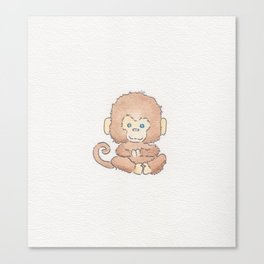 Just monkeying around Canvas Print
