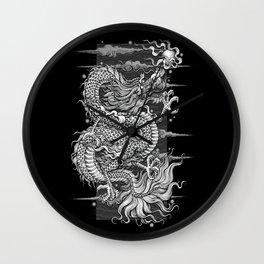 The dragon Wall Clock