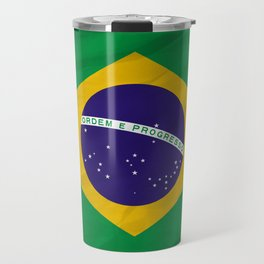 Brazil - South America flags Travel Mug