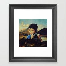Ilustrado 90 Framed Art Print