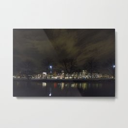 Clouds Over the Charles Metal Print