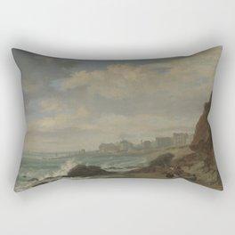 Brighton  by William Henry Stothard Scott Rectangular Pillow