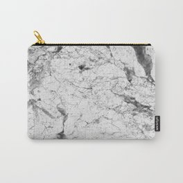 Dramatic white stone - marble Carry-All Pouch