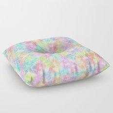 Eiffel Tower Rainbow Pattern Floor Pillow