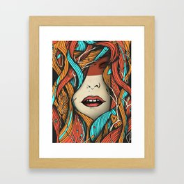 Daughter Nature Framed Art Print
