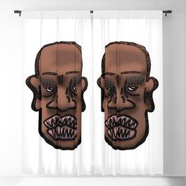 Bald Man Side Eye Blackout Curtain
