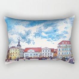 Tallinn art 7 #tallinn #city Rectangular Pillow